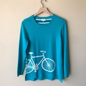 Crown & Ivy bike sweater
